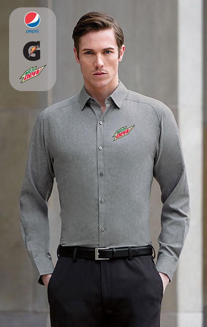 Men's Mélange Performance Shirts