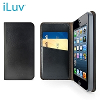 iLuv Diary Premium Leather Book Case for iPhone 5