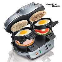Hamilton Beach Double Breakfast Sandwich Maker