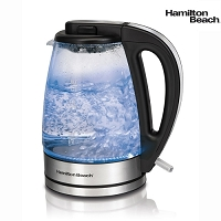 Hamilton Beach 1.7 Liter Glass Kettle