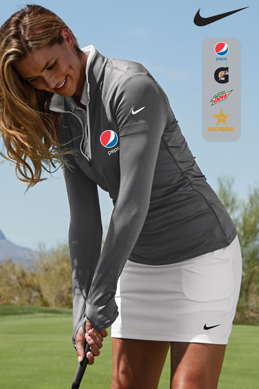 Nike Golf Ladies Dri-FIT Stretch 1/2-Zip Cover-Up.....Please Login To see our Special Pricing