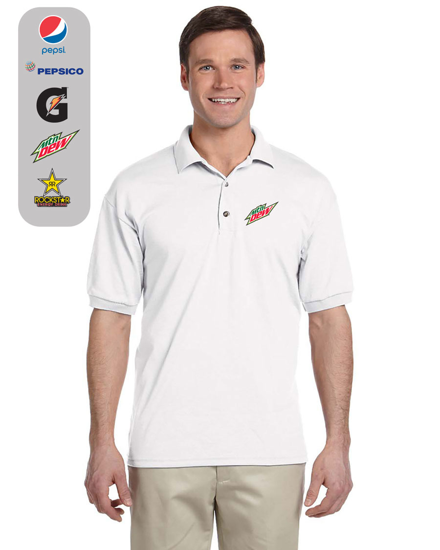 Men's Dry Blend 50/50 Jersey Polo