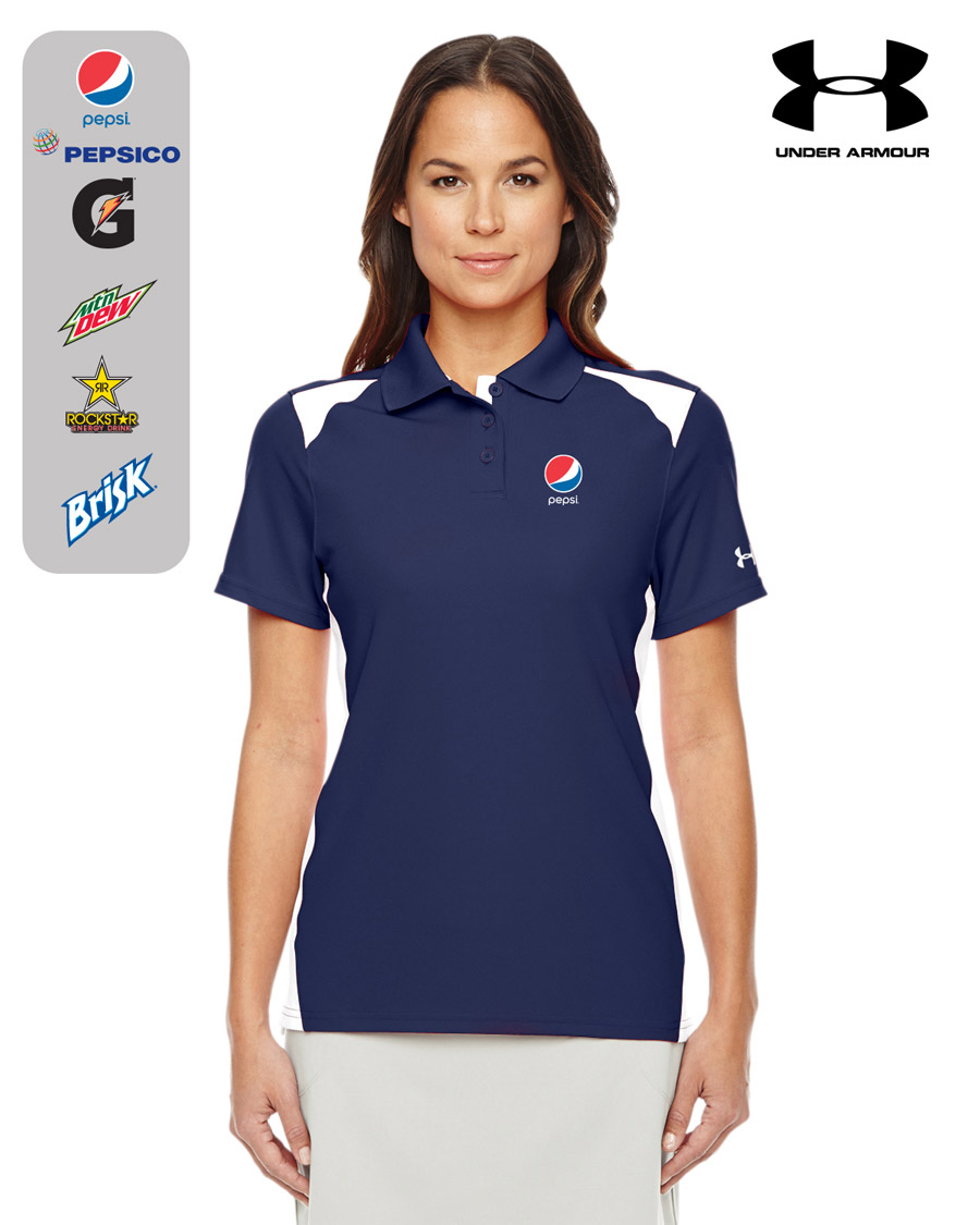 Ladies' Under Armour Team Colourblock Polo