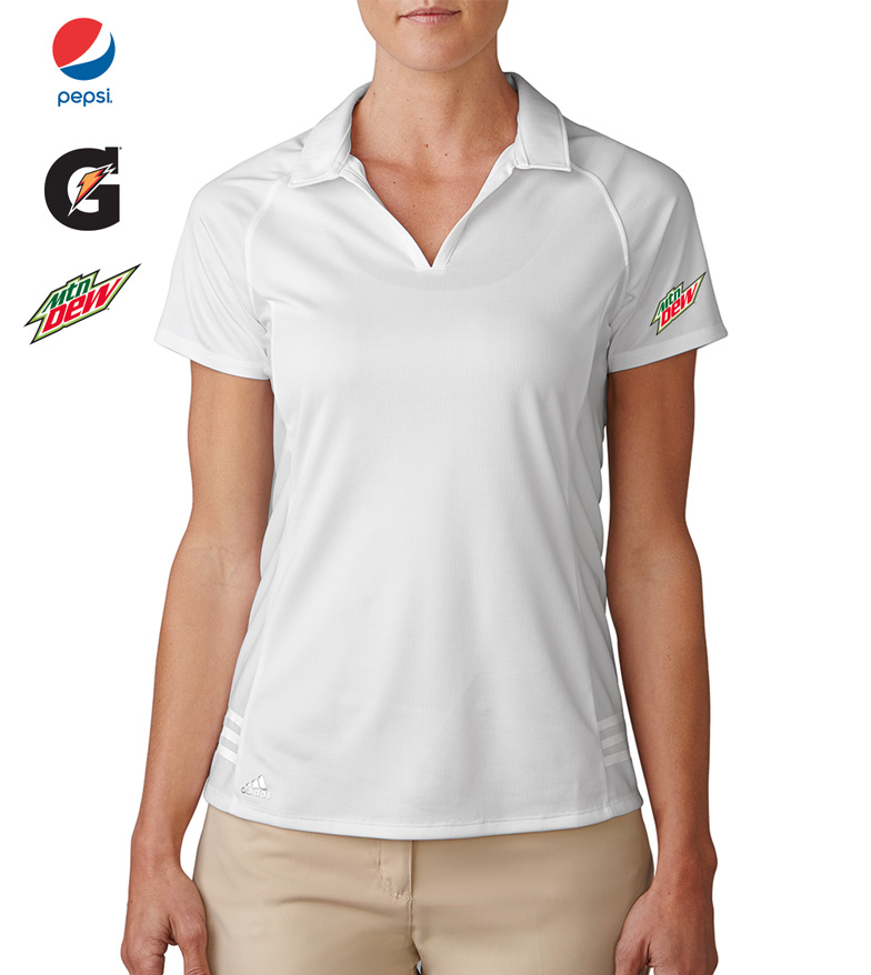 Ladies' Tour Climachill  3-Stripes Polo