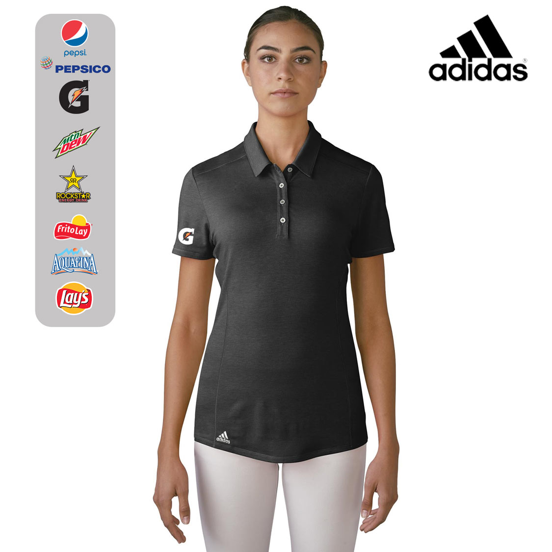 Ladies' Adidas Performance Polo