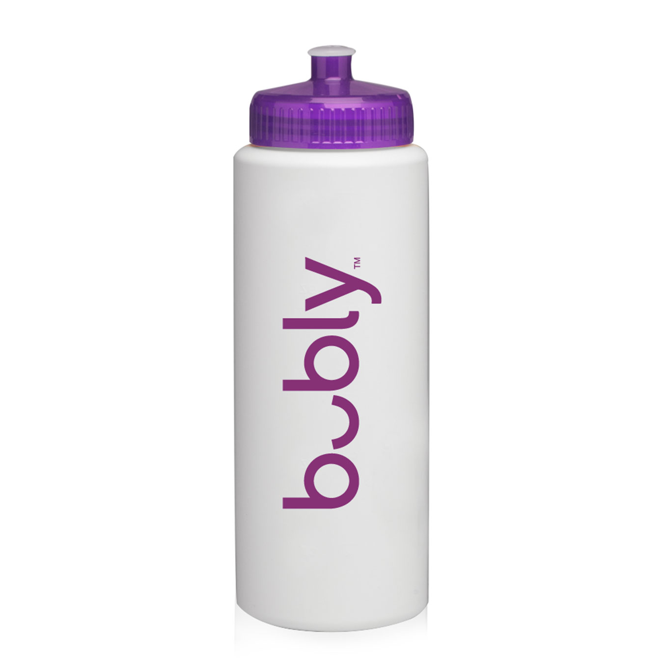 32 oz. HDPE Plastic Sports Water Bottle - Bubly