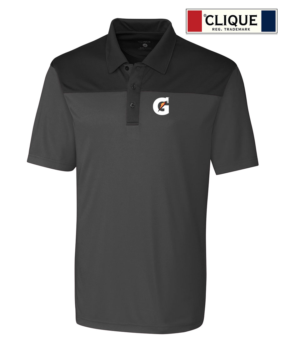 Clique Men's Parma Colorblock Polo - Gatorade