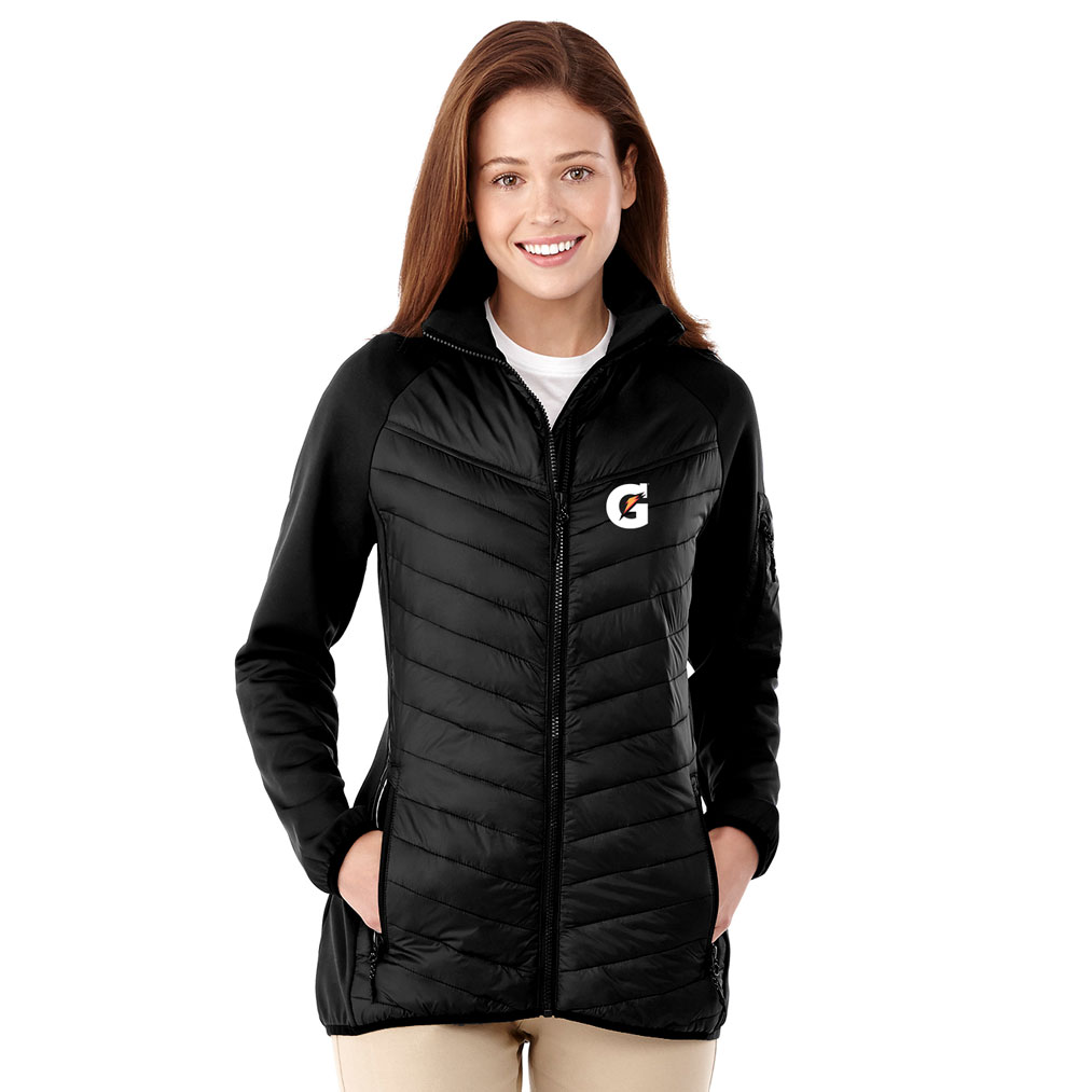 Ladies Banff Hybrid Insulated Jacket - Gatorade