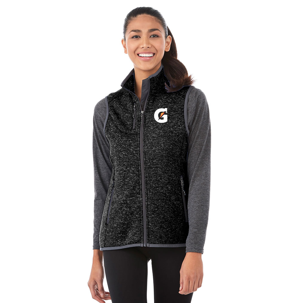 Ladies Fontaine Knit Vest - Gatorade