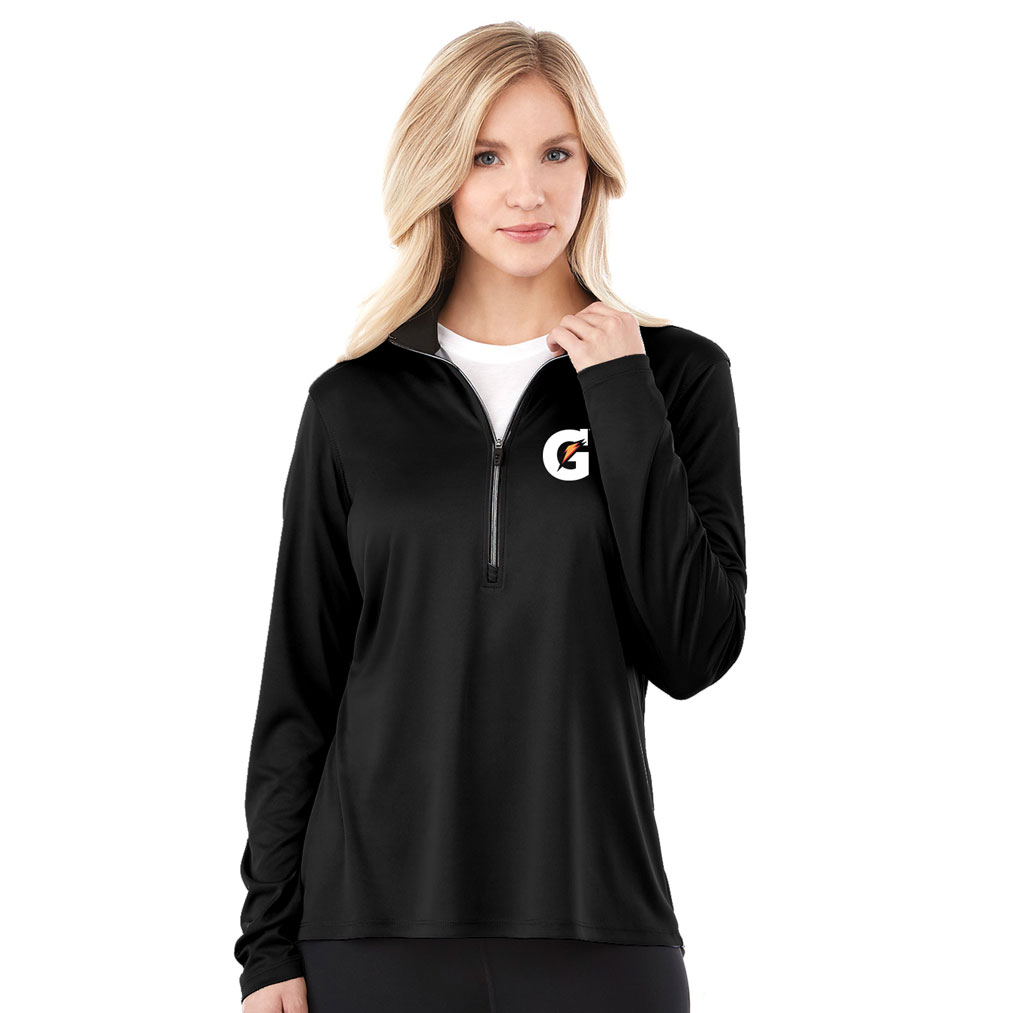 Ladies Vega Tech Half Zip - Gatorade