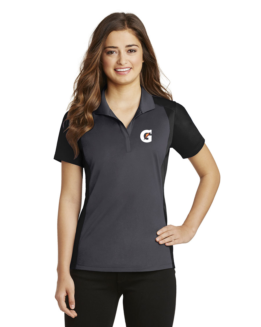Ladies Colorblock Micropique Sport-Wick® Polo - Gatorade