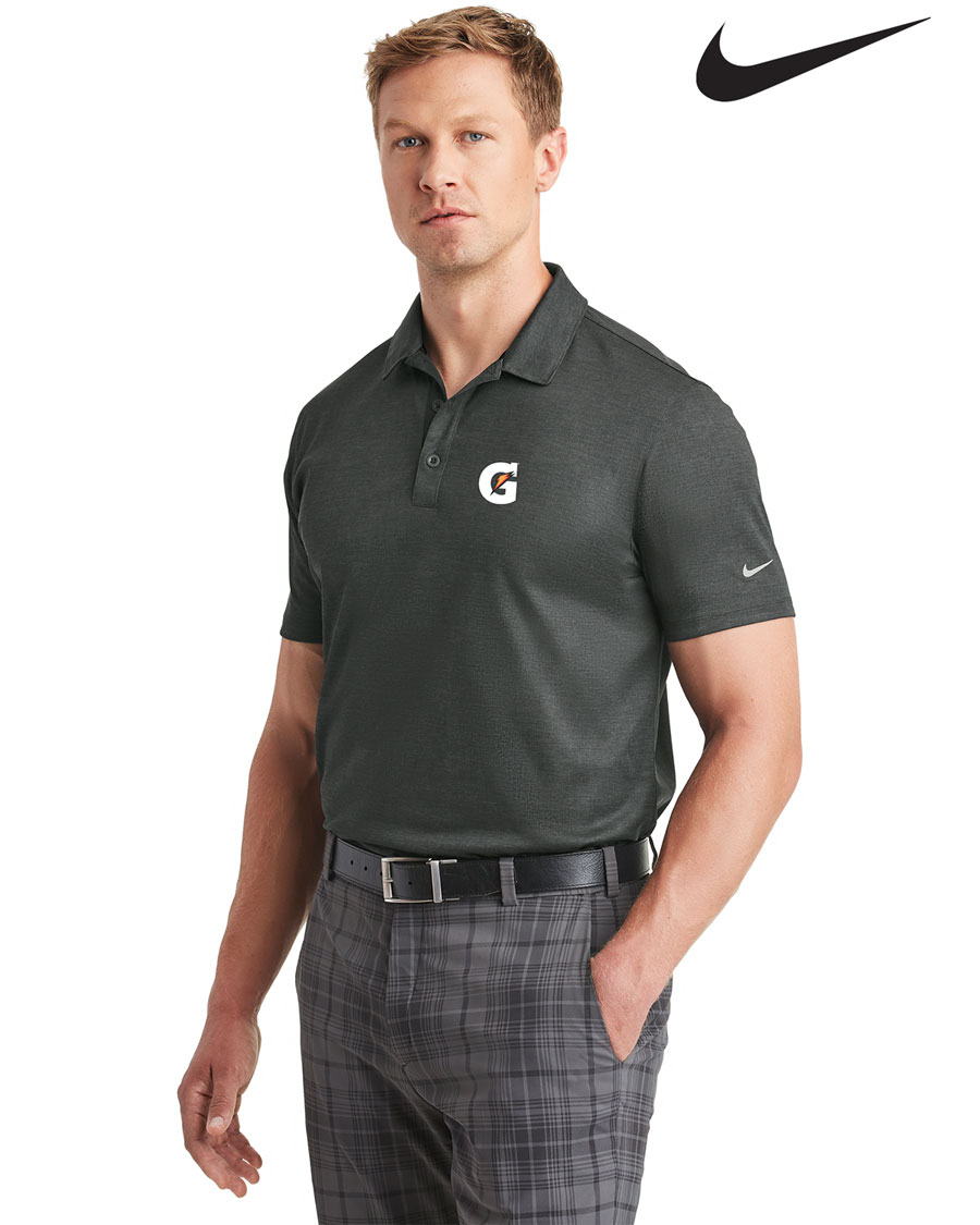 Nike Golf Men's Dri-FIT Crosshatch Polo - Gatorade