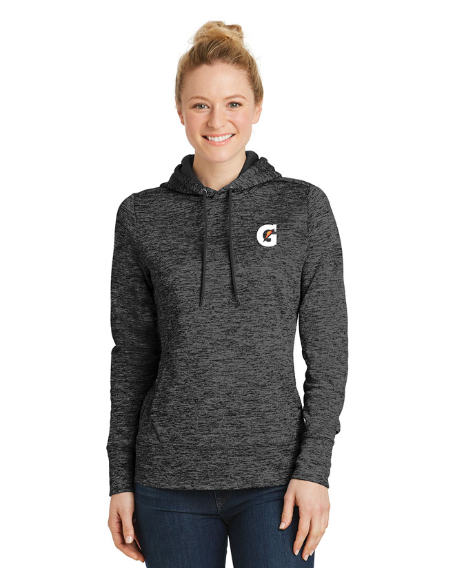 Ladies' PosiCharge® Electric Heather Fleece Hooded Pullover - Gatorade