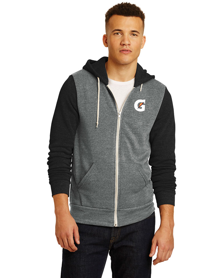 Men's Alternative Colorblock Rocky Eco™-Fleece Zip Hoodie - Gatorade