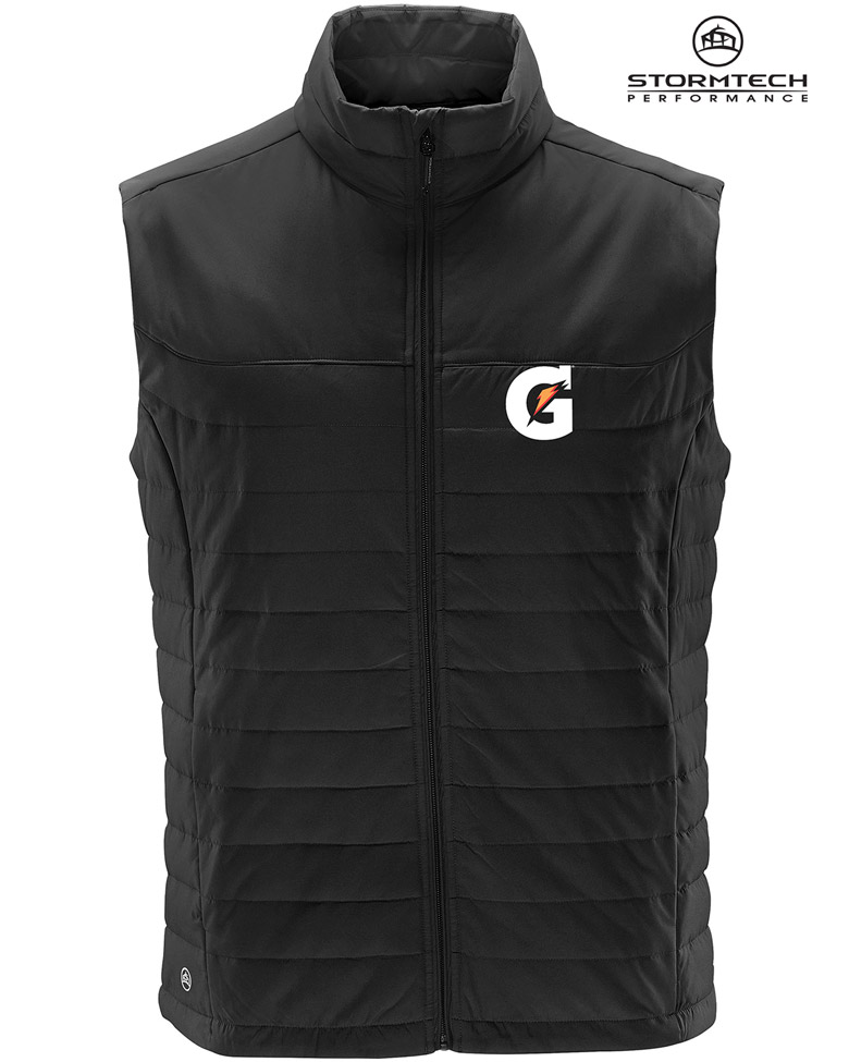MEN'S NAUTILUS QUILTED VEST - Gatorade