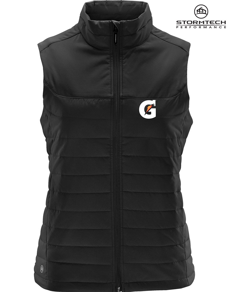 Ladies' NAUTILUS QUILTED VEST - Gatorade