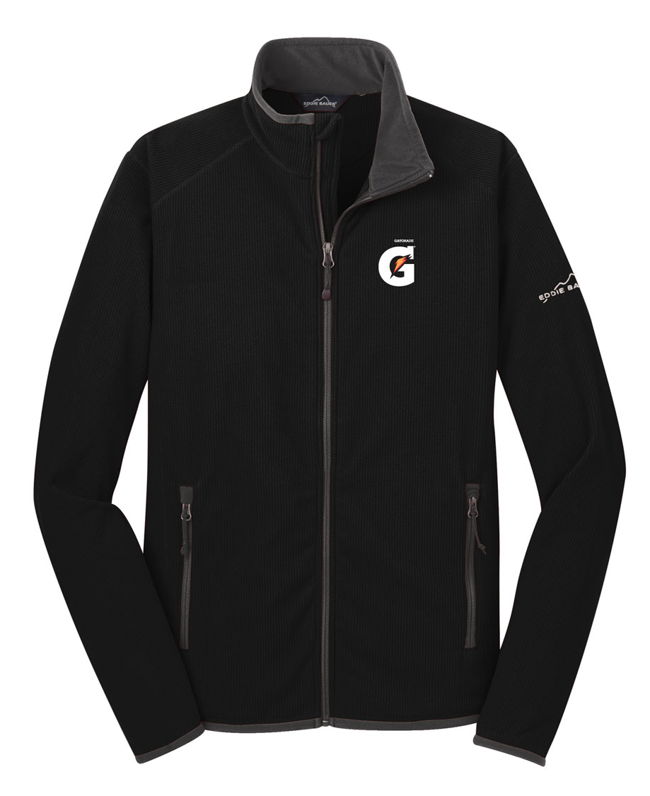 Men's Full-Zip Vertical Fleece Jacket