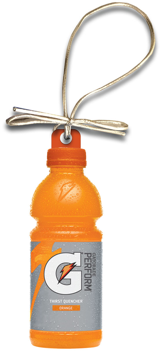 Gatorade Holiday Bottle Ornament