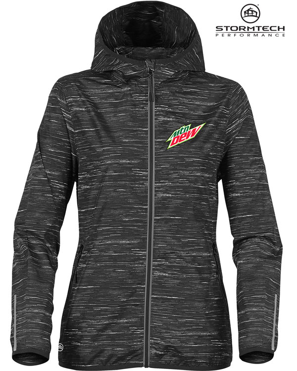 Women's Ozone Lightweight Shell Jacket - MTN Dew