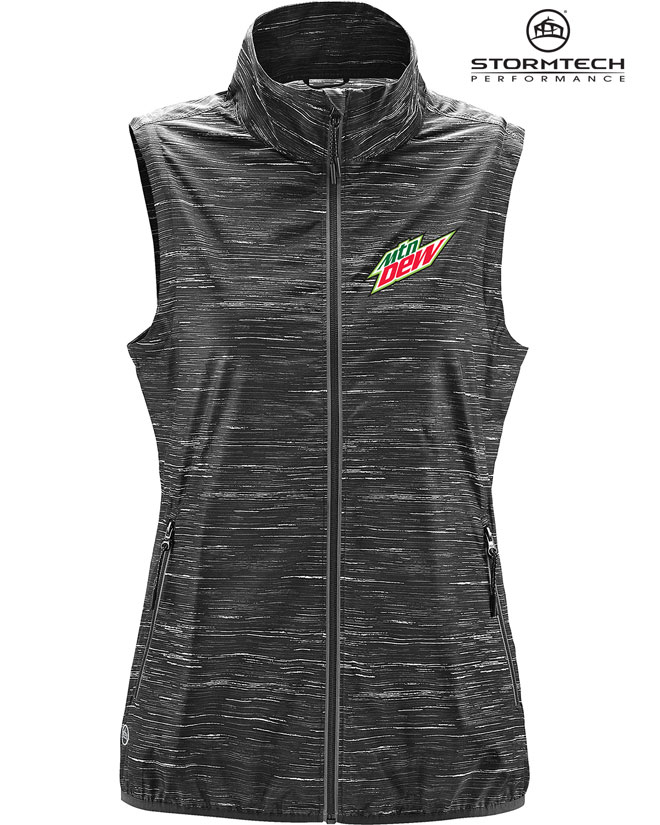 Women's Ozone Lightweight Shell Vest - MTN Dew