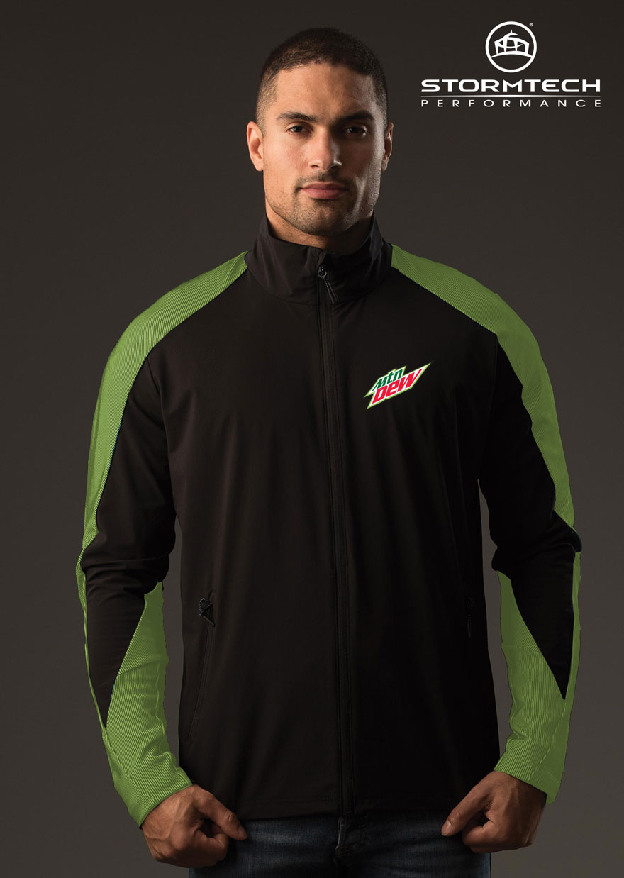 STORMTECH Men's Octane Lightweight Shell Jacket - MTN Dew