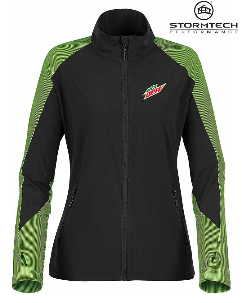 STORMTECH Women's Octane Lightweight Shell Jacket- MTN Dew