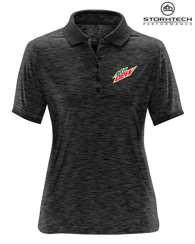 Women's Thresher Performance Polo - MTN Dew