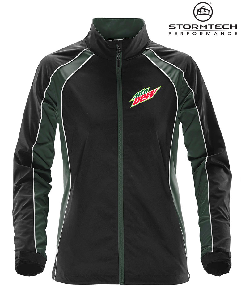 Women's Warrior Training Jacket - MTN Dew