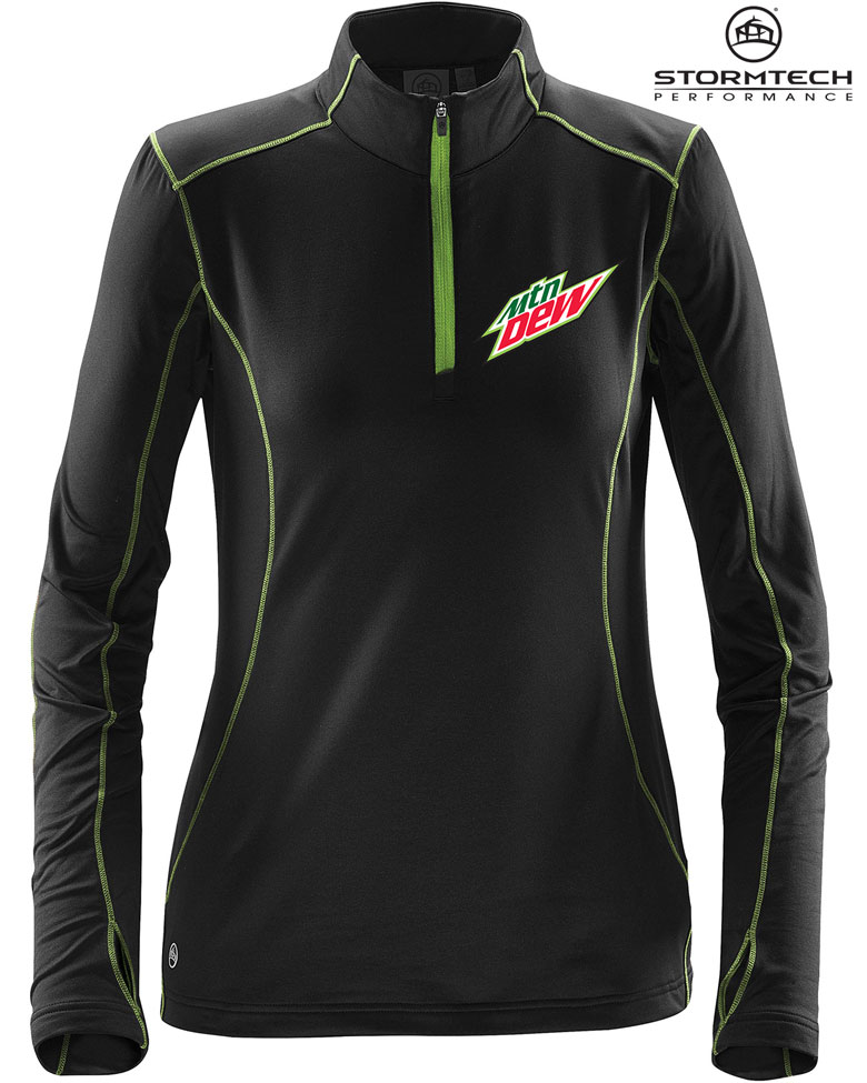 Women's Pulse Fleece Pullover - MTN Dew
