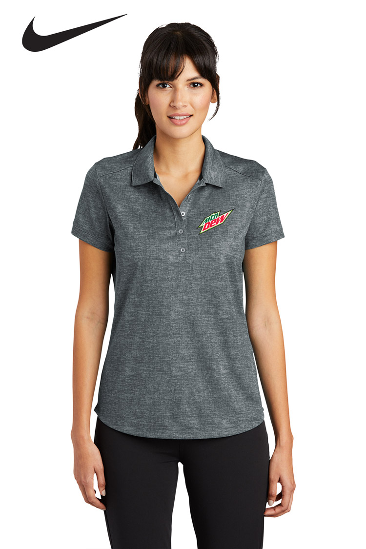Nike Golf Ladies' Dri-FIT Crosshatch Polo - MTN Dew