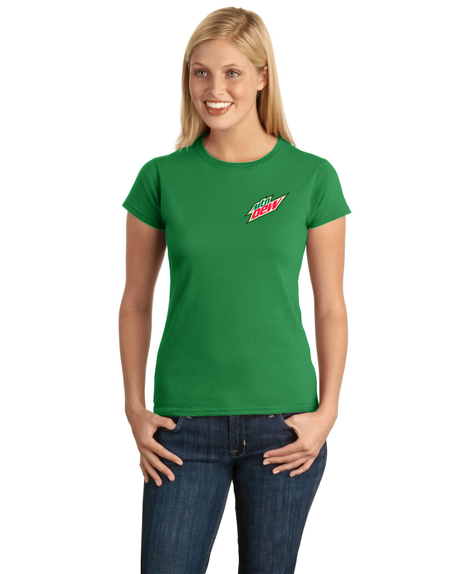 Ladies' Softstyle® Junior Fit T-Shirt - MTN Dew
