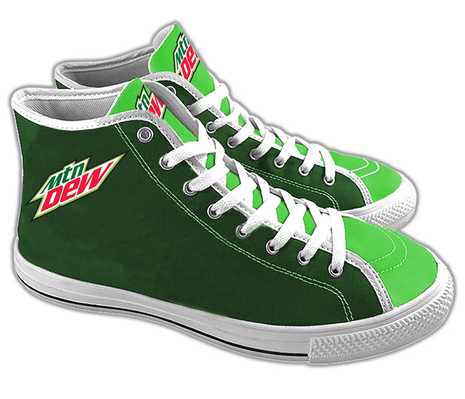 Ladies' Court Sneakers - MTN Dew - Login For Special $