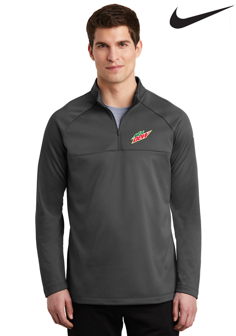 nike 1/2 zip fleece pullover
