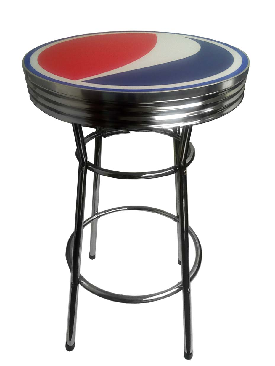 Pepsi Bar Table