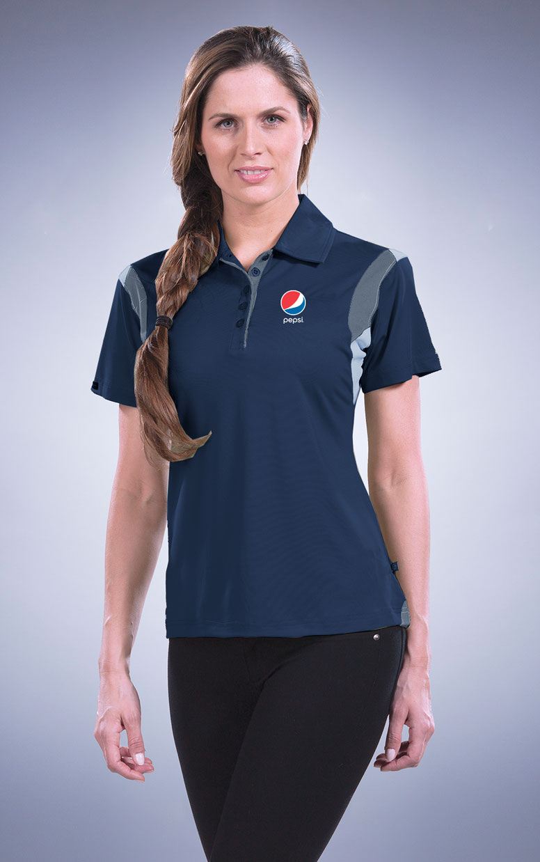 Women's Eagle Performance Polo - Pepsi