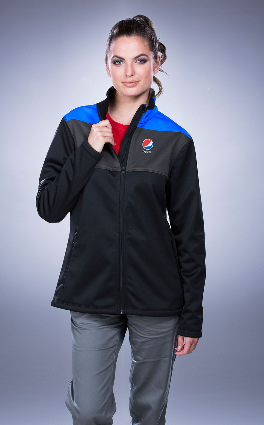 Women's Lightweight Performance Tri-color Jacket - Pepsi