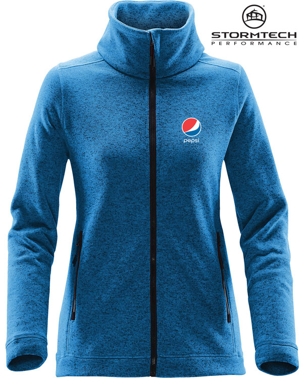 STORMTECH Women's Tundra Sweater Fleece Jacket - Pepsi