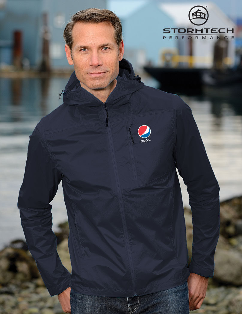 STORMTECH Men's Neutrino Shell Jacket - Pepsi