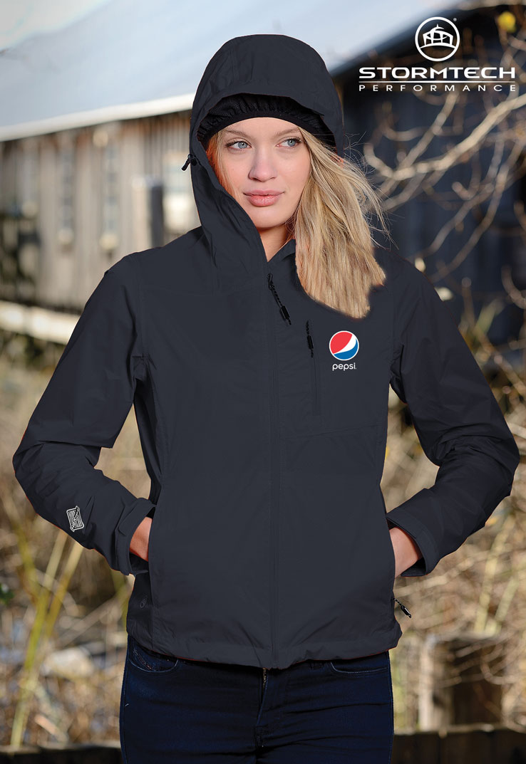STORMTECH Women's Neutrino Shell Jacket - Pepsi