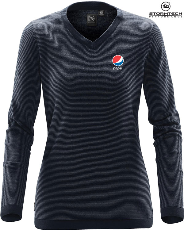 Women's Horizon Sweater - Pepsi