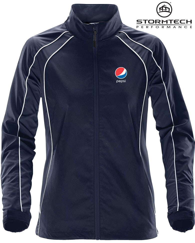 Women's Warrior Training Jacket - Pepsi