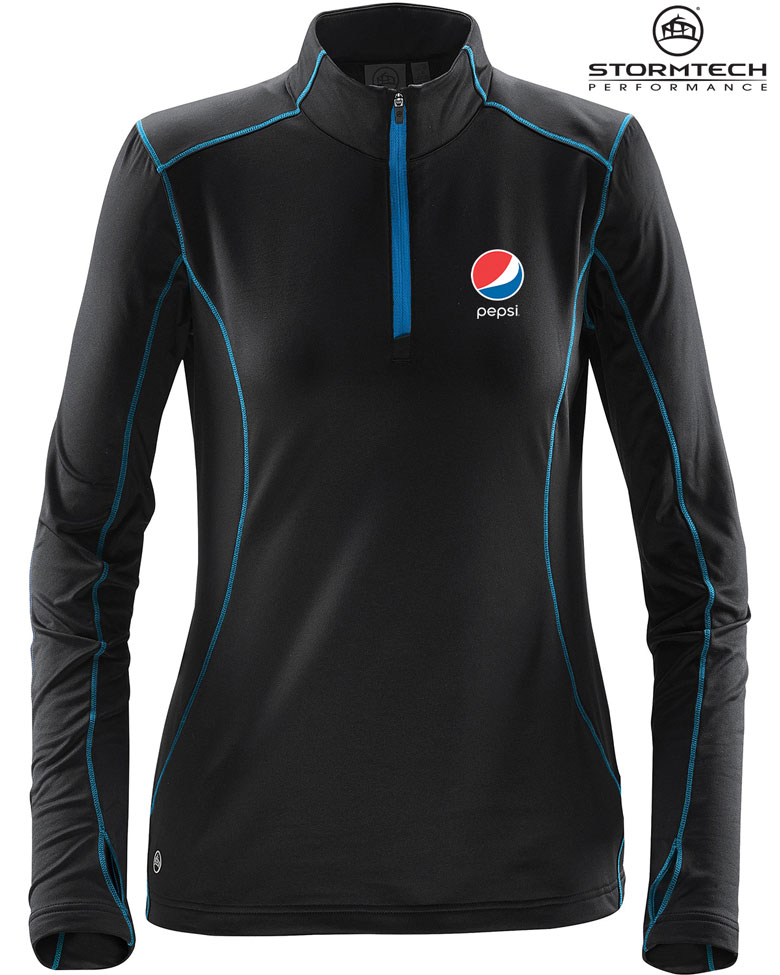 Women's Pulse Fleece Pullover - Pepsi