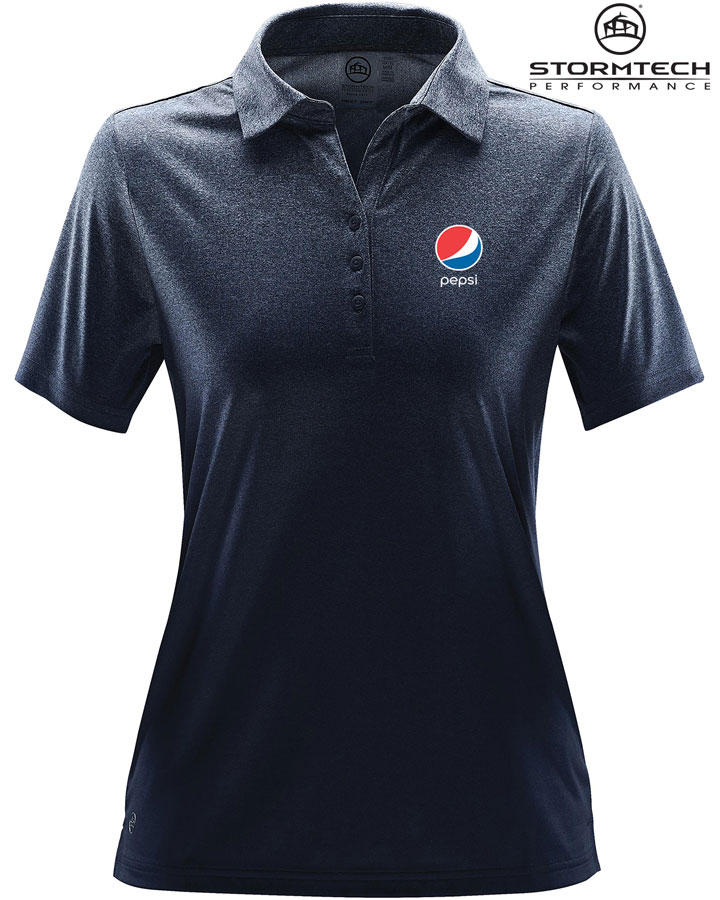 Women's Mirage Polo - Pepsi