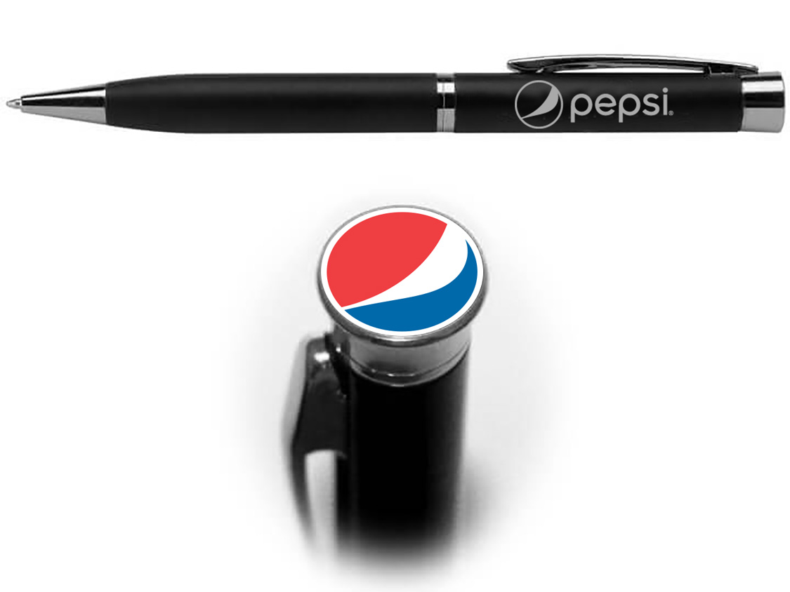 Executive Pen With Photo Dome - Pepsi - Login For Special $