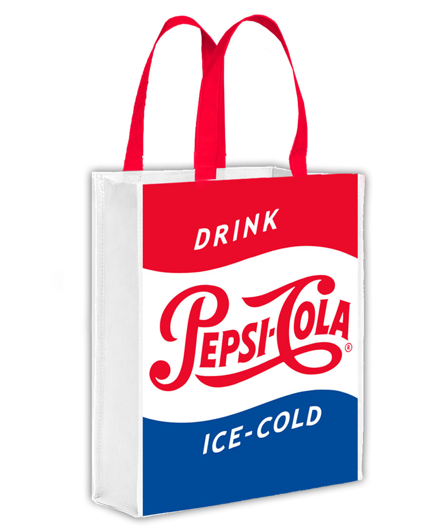 Awesome Gear Tote Bag - Drink Pepsi Cola Ice-Cold