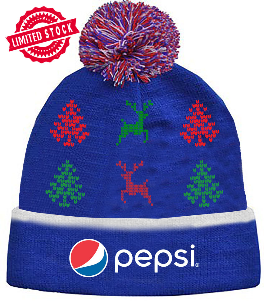 The Pepsi Holiday Beanie