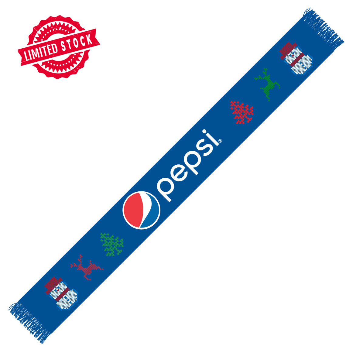 The Pepsi Holiday Scarf
