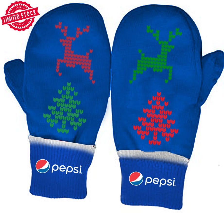 The Pepsi Holiday Mitts