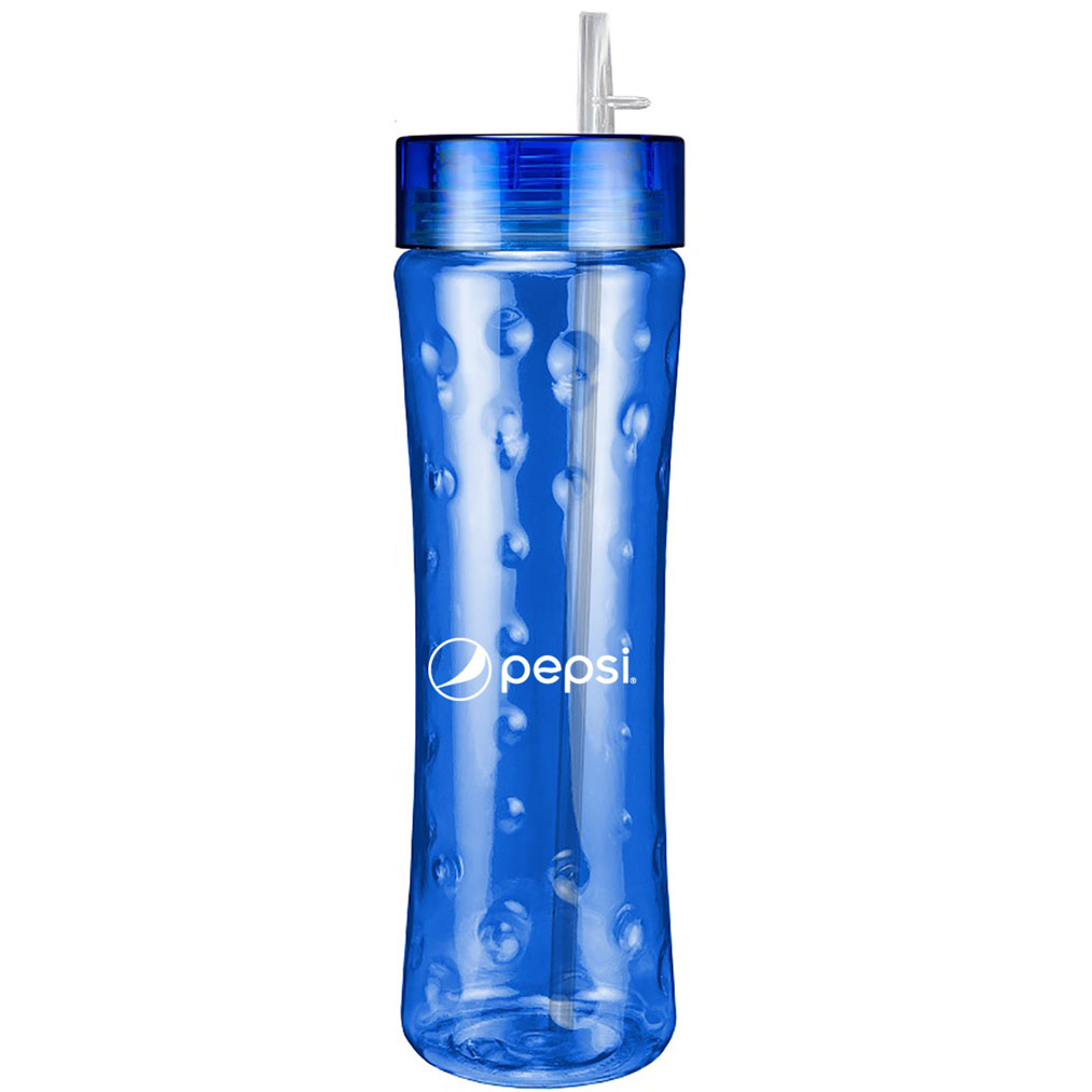 24oz Atlantis Bottle with Premium Lid - Pepsi