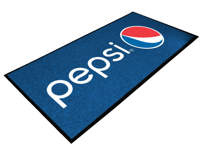 Pepsi Digital Print Floor Mat - 3ft x 10ft